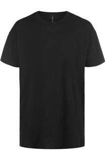 Удлиненная хлопковая футболка свободного кроя Barbara I Gongini