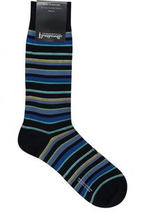 Хлопковые носки в полоску Pantherella