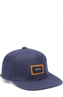 Бейсболка с логотипом бренда Armani Jeans