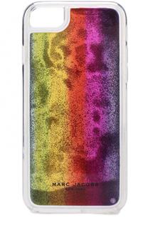 Чехол для iPhone 7 с декором Marc Jacobs