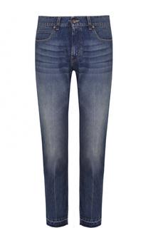 Укороченные джинсы с необработанным краем Stella McCartney