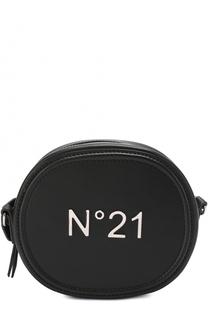 Сумка на молнии с логотипом бренда No. 21