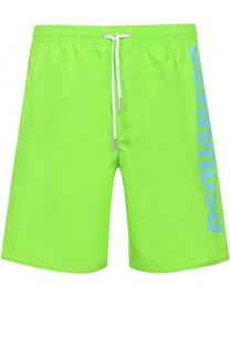 Плавки-шорты с логотипом бренда Dsquared2