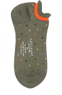 Хлопковые носки с принтом Antipast