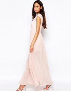 Платье макси Jovonna - Розовый