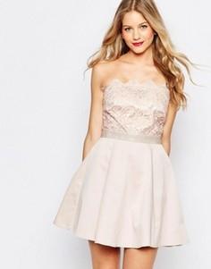 Платье мини для выпускного Lipsy - Розовый
