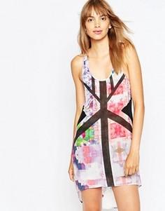 Платье с цветочным принтом Suboo - Мульти