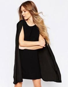 Платье-кейп Liquorish - Черный