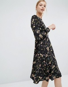 Свободное платье с цветочным принтом Paisie - Мульти