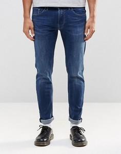Эластичные джинсы скинни Replay Jondrill - Синий