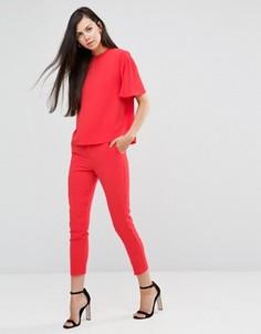 Укороченные брюки Finders Keepers Close To Me - Красный