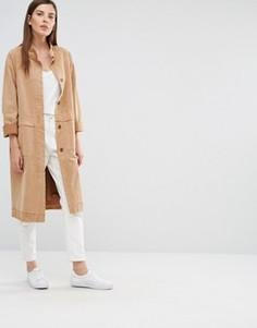 Пальто с длинными рукавами Selected Tea - Коричневый