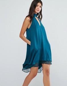 Платье мини The Jetset Diaries Imperial - Зеленый