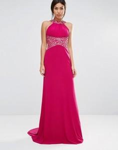 Платье макси Forever Unique Madaline - Розовый