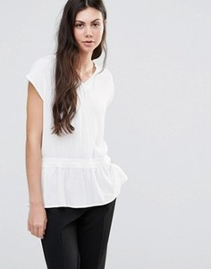 Блузка Minimum Etel - Белый
