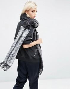 Oversize-шарф в стиле колор блок ASOS - Мульти