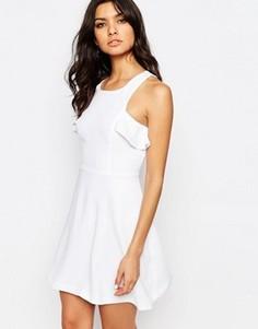 Платье с рюшами BCBGeneration - Белый