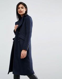 Пальто в стиле милитари Vero Moda - Темно-синий