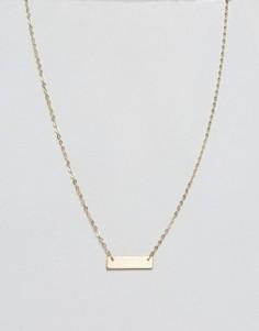 Ожерелье Pieces Dolly - Золотой
