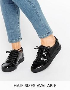 Кроссовки на шнуровке ASOS DARLEY - Черный