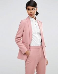 Блейзер в строгом стиле ASOS Premium - Розовый