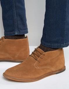 Замшевые светло-коричневые ботинки чукка Frank Wright Strachan - Рыжий