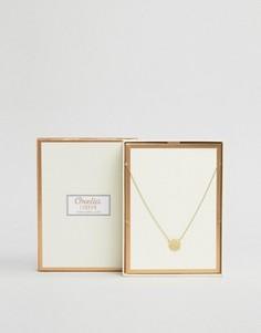Позолоченное ожерелье в подарочной упаковке Orelia - Золотой