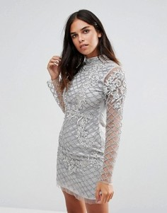 Платье с длинными рукавами A Star Is Born - Серебряный