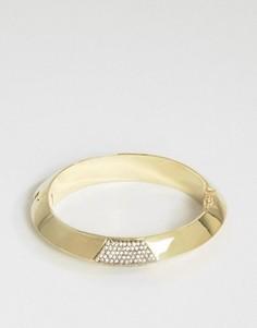 Золотистый браслет-манжета House Of Harlow - Золотой
