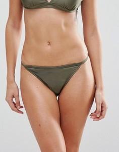 Комбинируемые плавки бикини танга Missguided - Зеленый