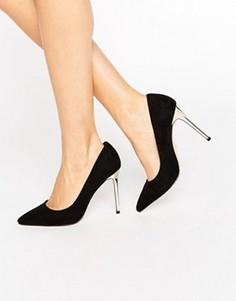 Туфли-лодочки с заостренным носком Faith Cleo - Черный
