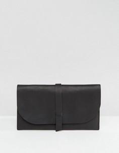 Кожаный кошелек ASOS - Черный
