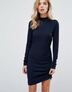 Платье с высоким воротом JDY - Темно-синий