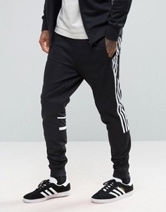 Черные узкие джоггеры adidas Originals CLR84 BK5929 - Черный