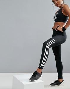 Леггинсы с тремя полосами adidas Training - Черный