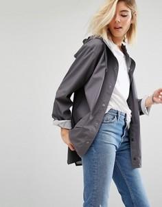 Непромокаемая куртка Rains - Серый