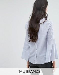 Рубашка без воротника Vero Moda Tall - Мульти