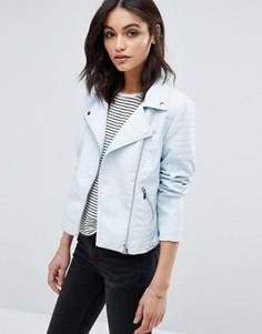 Куртка в кожаном стиле Vero Moda - Синий
