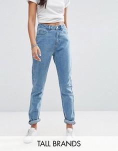 Джинсы в винтажном стиле Noisy May Tall Donna - Синий