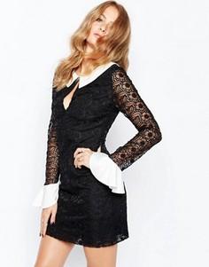 Монохромное платье мини Millie Mackintosh - Черный