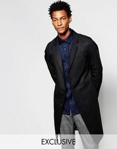Легкое пальто Noak - Черный