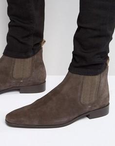 Замшевые ботинки челси KG Kurt Geiger Baxter - Коричневый