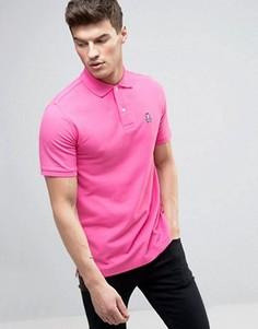 Розовая футболка-поло Psycho Bunny - Розовый