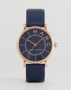 Часы с темно-синим ремешком Marc Jacobs Roxy - Темно-синий