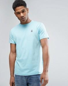 Psycho Bunny Crew Neck Pastel T-Shirt - Синий