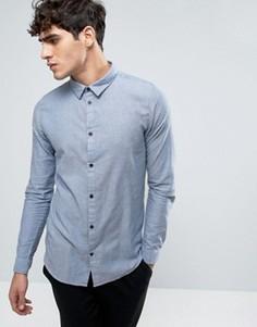 Dr Denim Damian Slim Shirt Blue Mix - Синий
