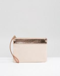 Miss KG Tia Pink Clutch - Розовый
