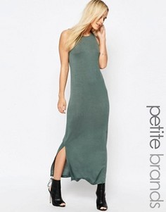Платье макси Vero Moda Petite - Зеленый