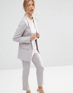 Блейзер в строгом стиле ASOS Premium - Серый
