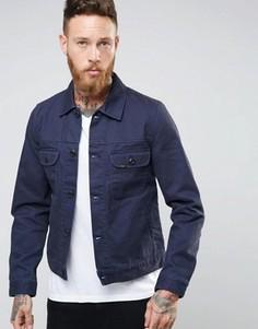 Темно-синяя вельветовая куртка Lee Bedford - Темно-синий